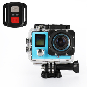 Image 5 - 2.4G dijital Video eylem kamera Ultra HD WiFi sualtı su geçirmez spor kamera kamera 170 derece geniş açı uzaktan kumanda