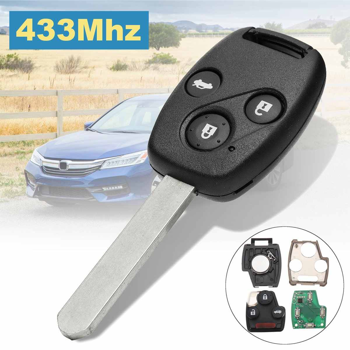 Detail Feedback Questions About Dandkey Car Remote Key Shell For