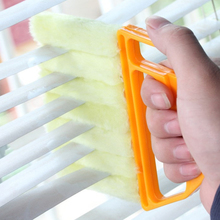 1PC Clean Brush For Blinds Wash Venetian Blind Cleaner Plastic Useful Microfiber Window Cleaning Air Condit Duster