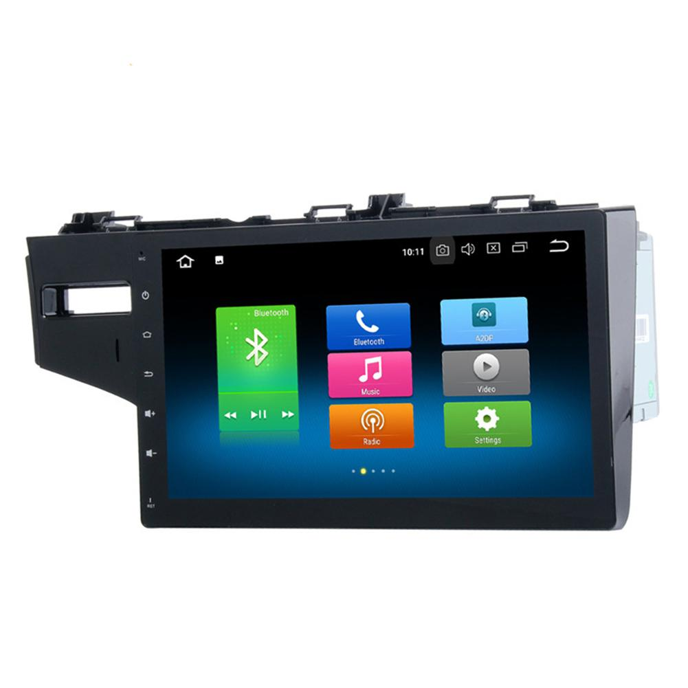 Auto Radio Player 1 Din GPS Navigation Car Multimedia Player Car Radio Stereo Wifi Bluetooth USB Audio for Honda Fit 2013 R20