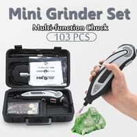 150W 220 240V Mini Grinder Electric Hand Drill Rotary Tool DIY Motor Power Supply Accessories Variable Speed Engrave