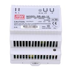 Din rail power supply 60w 12V ac dc converter dr 60 12 power supply 12v 60w good quality