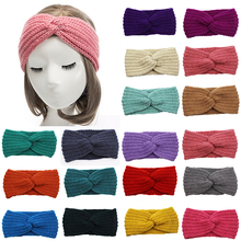 Warm and soft autumn winter new fashion ladies hair band wash makeup bandage headband stretch adjustable headgear