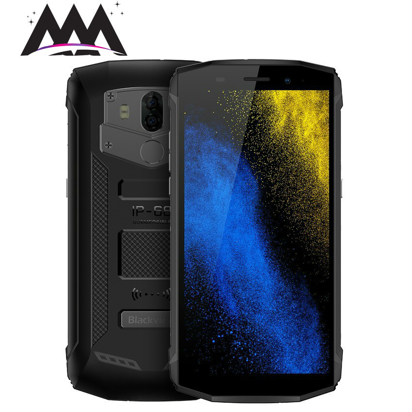 Blackview BV5800 IP68 Waterproof shockproof 5.5 18:9 HD Screen 4G Smartphone 2GB+16GB Cell Phone MT6739 Quad Core Mobile Phone