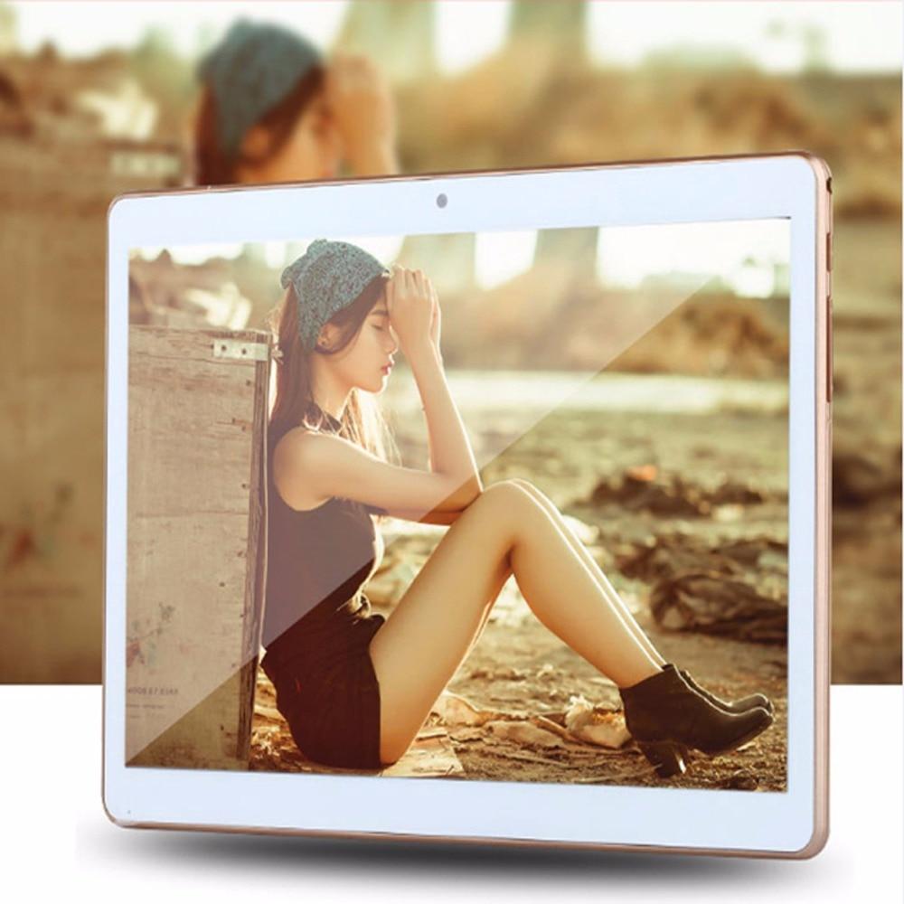10 pouces Original 3G téléphone appel carte SIM Android 7.0 Quad Core CE marque WiFi GPS FM tablette pc 4 GB + 32 GB Android tablette Pc 7 8 tab