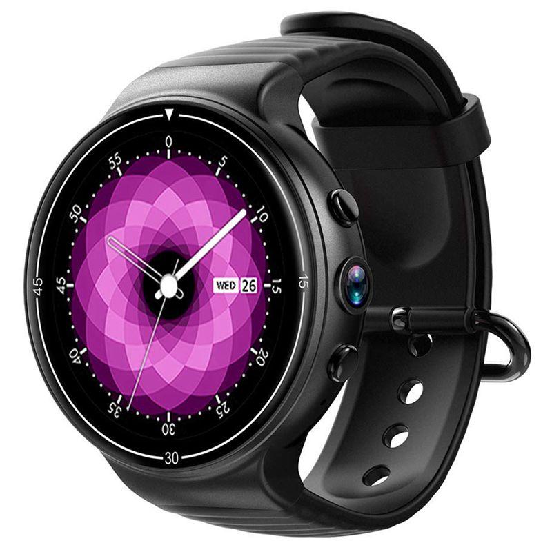 I8 Android7.0 Quad Core caméra fréquence cardiaque 4G SIM GPS Smartwatch pour téléphones/tablettes