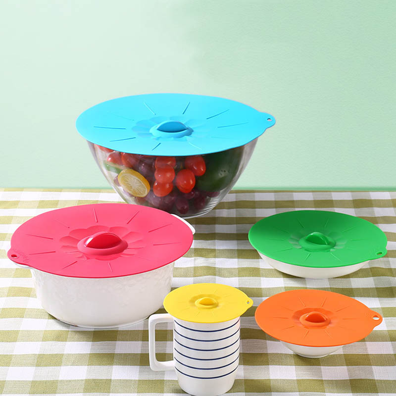 Bowl Cover Pan-Lid Microwave Cooking-Tools Silicone Reusable Food-Wrap 1PC Multifunction