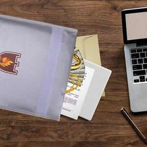 Image 5 - حريق حقيبة مستندات حامل الحقيبة الرئيسية مكتب حقيبة آمنة النار مقاومة للماء مجلد ملفات حقيبة التخزين الآمن