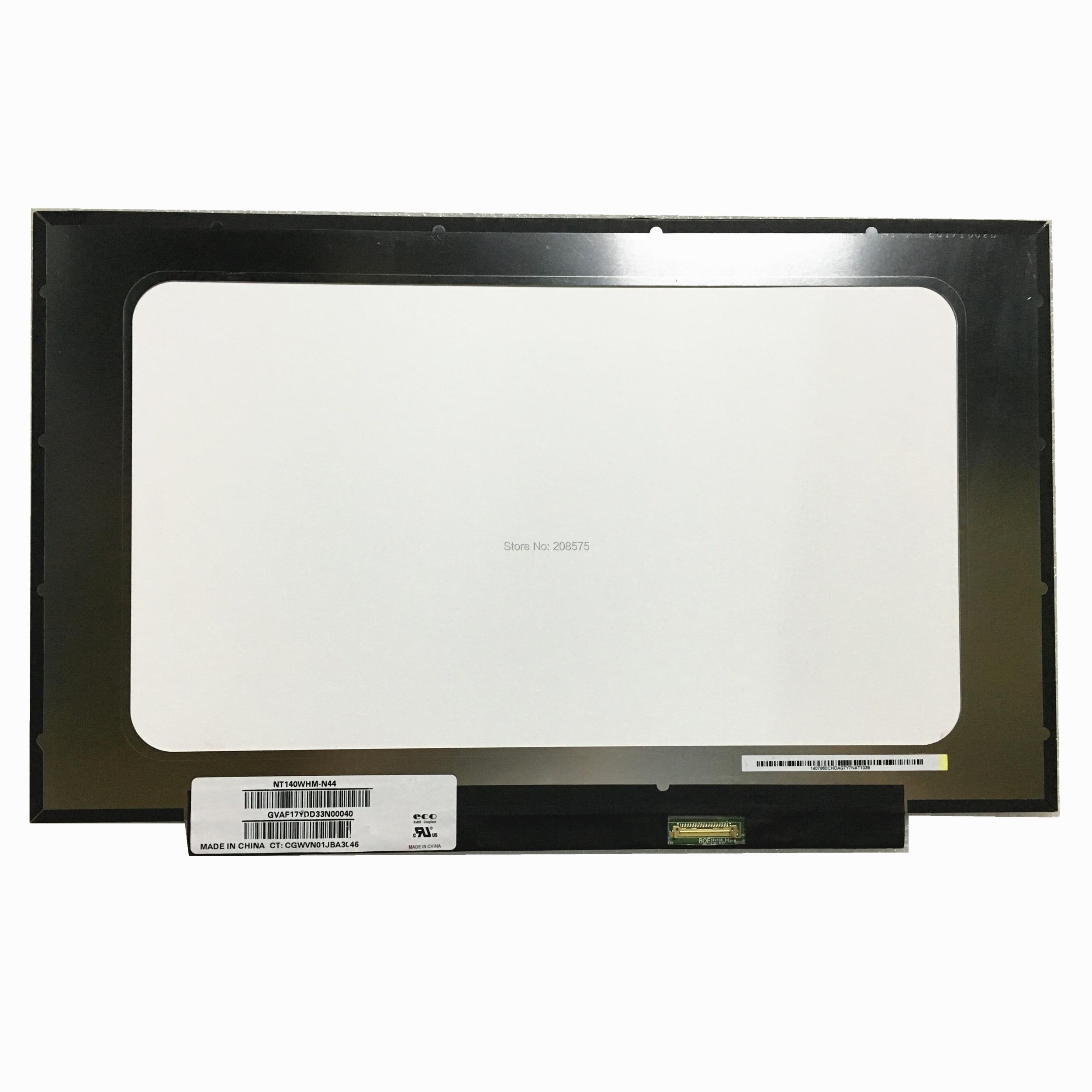 Freeing shipping NT140WHM-N44 NT140WHM N44 NT140WHM-N43 For HP 14-cf0006nx Laptop Lcd Screen 1366*768 EDP 30 pinsFreeing shipping NT140WHM-N44 NT140WHM N44 NT140WHM-N43 For HP 14-cf0006nx Laptop Lcd Screen 1366*768 EDP 30 pins