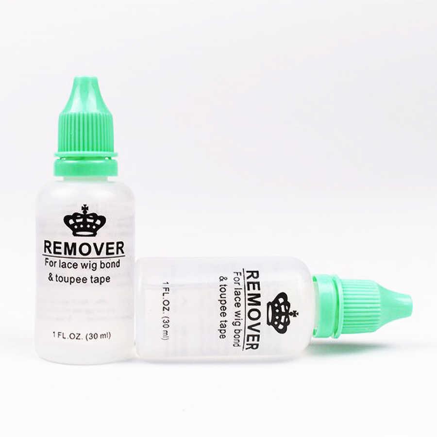 30 мл/бутылка средство для удаления клея жидкость быстрое удаление волос Бонд клей лента для кружева парик Зажим для парика Вьющееся удлинение аксессуар