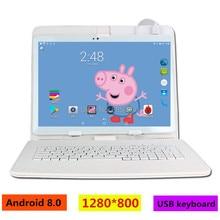 Free Shipping Original Tablets 10.1' 32GB Nice Tablets Android 8.0 Octa Core K990 Dual Camera Dual SIM Tablet PC WIFI OTG GPS