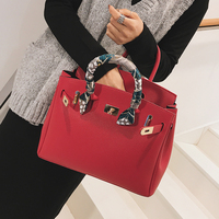 Vintage Portable Tote Bag For Women 2018 New Quality Pu Leather Women's Luxury Handbag Large Shoulder Bag Bolso Mujer Sac A Main