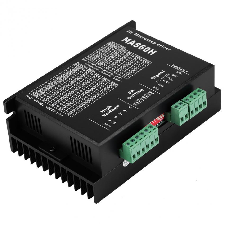 MA860H Stepper Motor Driver Controller Module 18 80V AC 24 110V DC 7 2A for 2
