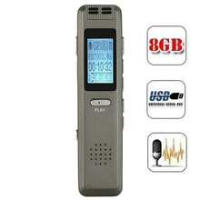 V22 Digital Audio Recorder 8G Voice Activated Recording Recorder Usb Long Battery Life Stereo Protable Music Mp3 Player цена и фото