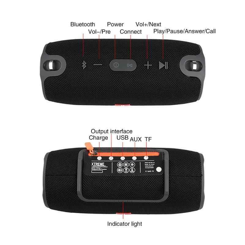 Новый беспроводной лучший Bluetooth динамик Портативный Открытый Мини Колонка коробка громкий динамик дизайн для телефона