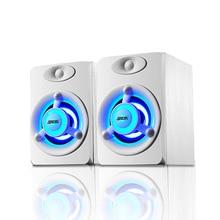 SADA V-118 мини USB динамик ПК телефон компьютер Soundbox USB 2,0 громкий динамик с красочным дыхательным светодиодный светильник для ноутбука
