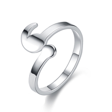 Semicolon Rings Girls Adjustable Silver Fashion Women Ring Mental Health Elegant Gifts Inspirational New Style Jewelry