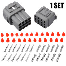 1 Set 12 Pin Way Sealed Electrical Wire Connector Plug Waterproof 2.2mm to 2.5mm For Auto Car(China)