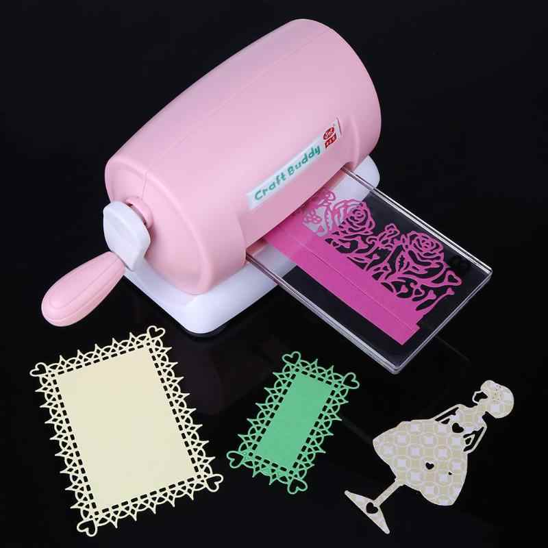 New DIY Scrapbooking Machine Pink Summer Embossing Die Cutting Cutting Paper Cutter Piece Cut Card Crafts Arts Drop Shipping