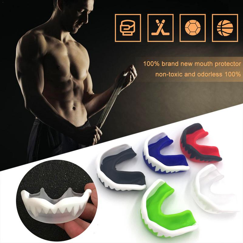 Mouthguard Basketball Football Mouth Guard Teeth Protect Double Side Boxing MMA Sanda Mouth Braces Gum Shield Gear Safety