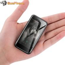Oryginalny Melrose S9 PLUS Mini Smartphone 2 45 MT6737 czterordzeniowy Android 7 0 1GB 8GB 4G LTE ultra-cienki uczeń najmniejszy telefon tanie tanio Nie odpinany Do 48 godzin Nonsupport Nowy 1 karty SIM 480x320 Linghting Smartfony Normalny ekran Pojemnościowy ekran Arabski