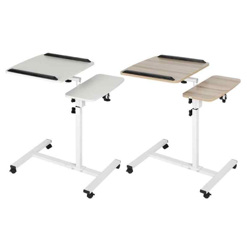 Регулируемый по высоте стол для ноутбука складной компьютерный стол подставка кровать с колесами