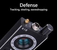 1 МГц-6,5 ГГц K18 мульти-функция Анти-шпион детектора Камера GSM аудио прибор обнаружения устройств подслушивания gps сигнала объектива устройств...