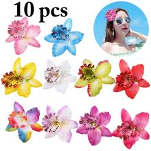 10PCS Spring And Summer New Style Simulation Flower Hair Clips Artificial Barrette Bridal Styling Accessories