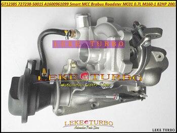 GT1238S 727238 727238-5001 S 727238-1ZD A1600961099 Turbo Turbocharger Đối Với Thông Minh MCC Brabus ROADSTER MC01 2003-0.7L M160-1 82HP