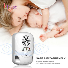 Ultrasonic Electronic Pest Control Rodent Rat Mouse Repeller Mice Repellent Anti Mosquito US EU
