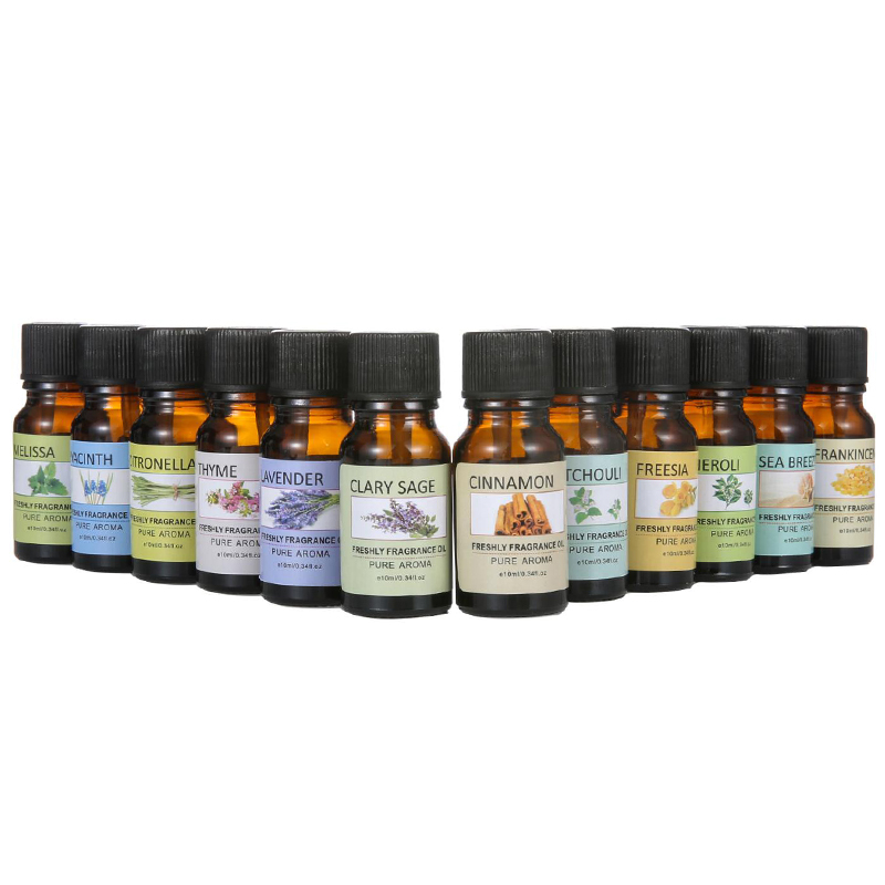 100% Pure Natural Aromatherapy Oils Air Freshening Dropper Essential Oil Flower Fruit Humidifier Massage Fragrance Oil TSLM1 4