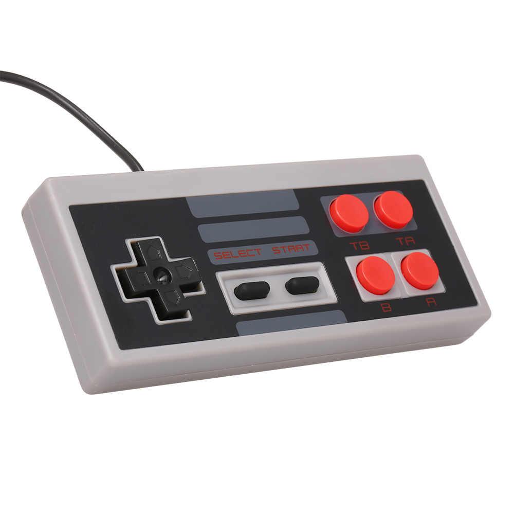 Мини ТВ Видео игровая консоль портативная Семейная Игра для отдыха двойной геймпад AV порт встроенный 620 классические игры Ретро игровой плеер