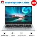 2019 <font><b>huawei</b></font> Honor MagicBook ноутбук 14 дюймов Windows 10 AMD Ryzen 5 3500U 8 Гб 256 ГБ/512 ГБ SSD Radeon Vega 8 ноутбук с отпечатком пальца