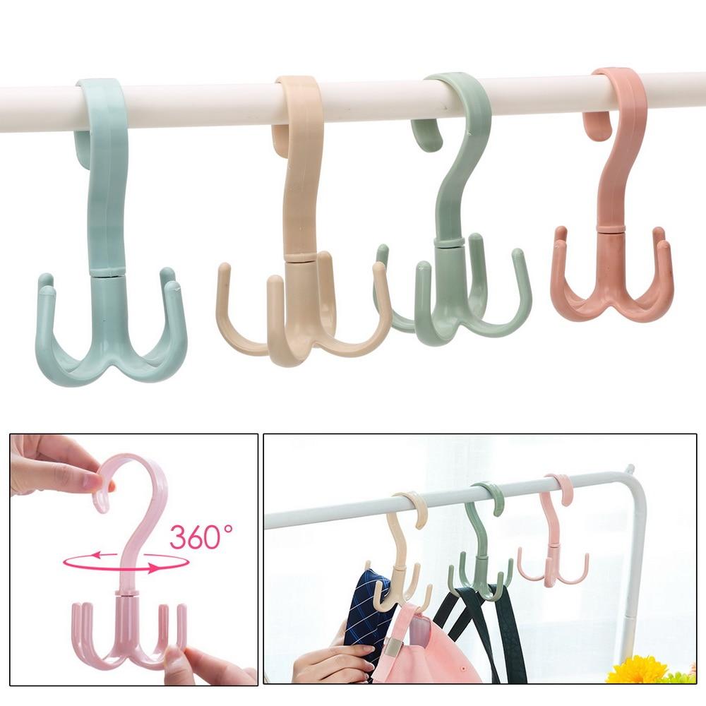 Держатель сумки для сумок, компактный Вешалка для шкафов, вешалка для одежды, вращающаяся на 360 градусов вешалка для обуви и шарфа