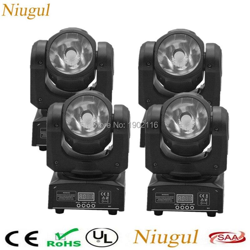 4pcs lot 60W RGBW 4IN1 LED Beam Moving Head Light Super Bright Bar DJ LED Spot