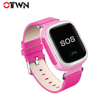 Ottwn Q80 Child Smart Bracelet Anti-lost Smartwatch GPS Tracker SOS Call GSM SIM Xmas For Kids Student for Android iOS