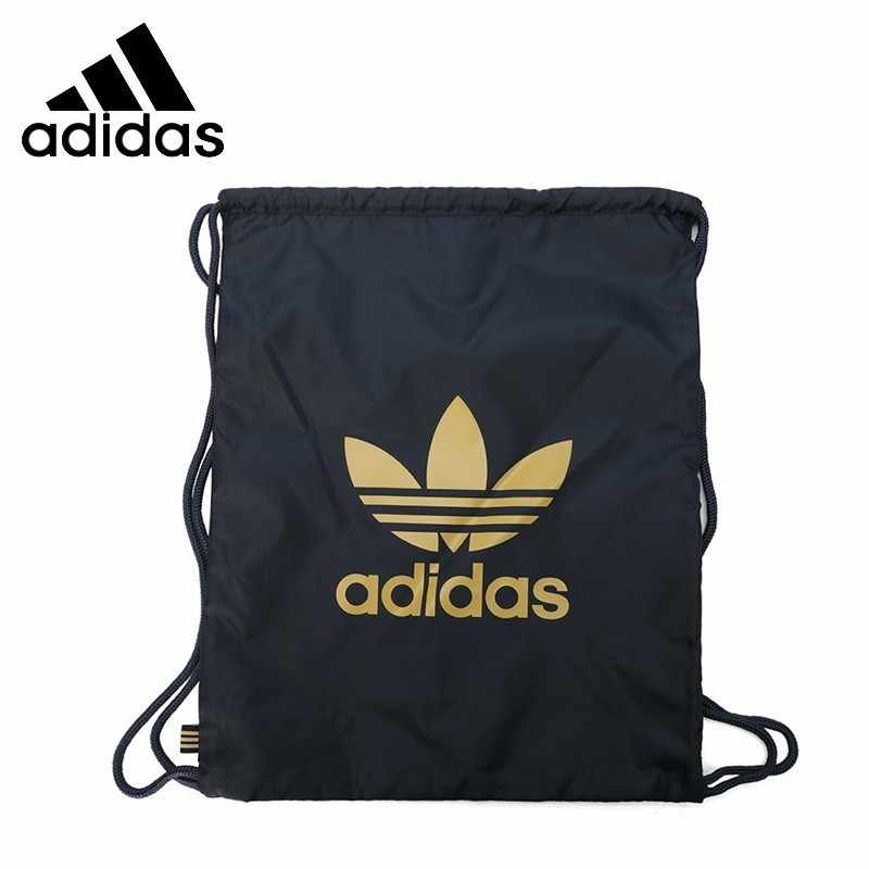 US $22.05 55% OFF|Adidas Original Man GYMSACK TREFOIL Training Backpack Woman Clover Sports Bag DV2389 in Training Bags from Sports & Entertainment on