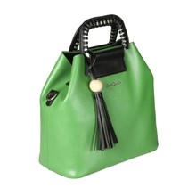 Сумка Sergio Belotti 306 apple green/black