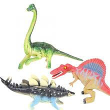 Big Size Jurassic Wild Life Dinosaur Toy Set Plastic Play Toys World Park Model Action Figures Kids Boy Gift