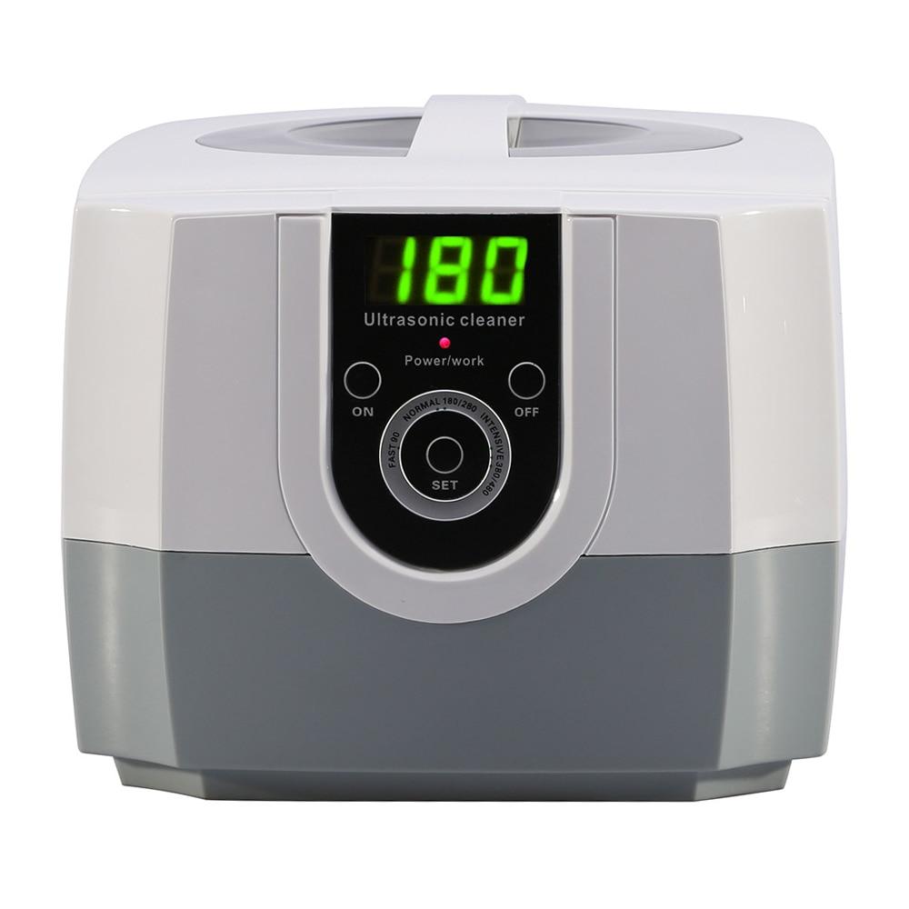 1400 ml Intelligent nettoyeur à ultrasons Intelligent pour les lunettes utiliser ultrasons vague lavage pour bijoux lunettes ultrasons bain Machine
