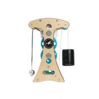 Rowsfire 1 компл.. Все металлические 3D Galileo маятник часы сплав собранная модель игрушки для взрослых креативный подарок с высоким качеством