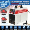 ZX7-250 Mini Hause 220 V ARC MMA Schweiß Maschine 250A Phase Schweißer DC Inverter Digital Dsplay Schweißen Gerät