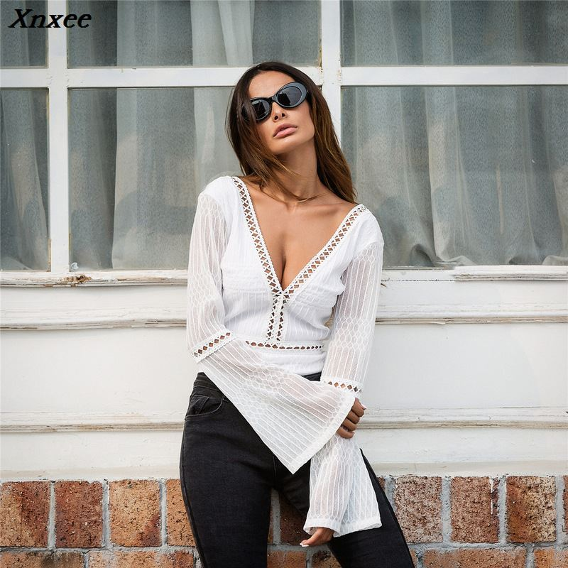 Xnxee sexy black jumpsuit bodysuit women combinaison femme europe and the united states jumpsuits rompers backless body women in Bodysuits from Women 39 s Clothing