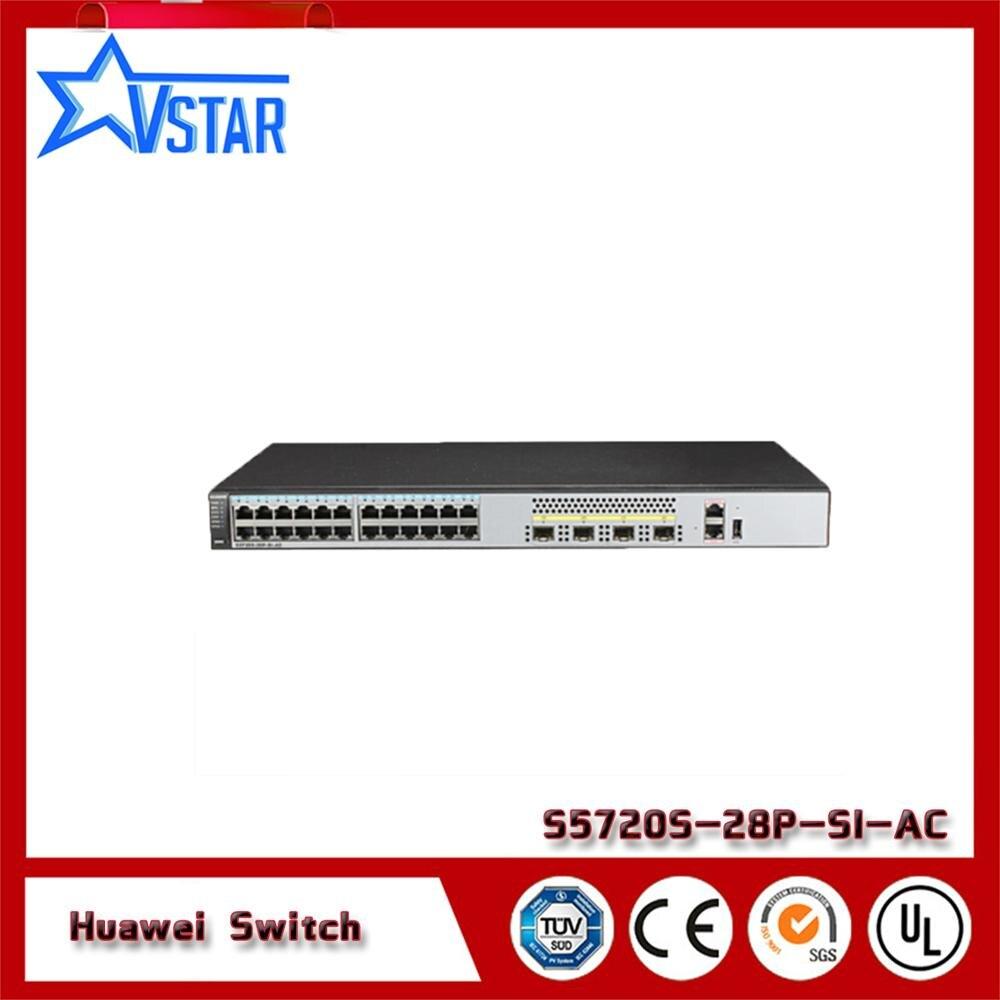 Communication Equipments Friendly S5720s Series S5720s-28p-si-ac Hua Wei 24-port Gigabit Fiber Cellphones & Telecommunications
