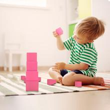 10Pcs Stand Cards Montessori Materials Pink Tower Early Childhood Education Preschool Kids Math Toys For Children