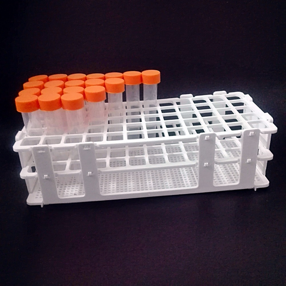 Plastic Test Tube Rack for 16mm*60 Wells, White,Detachable(60 Hole),15ml tube box.Plastic Test Tube Rack for 16mm*60 Wells, White,Detachable(60 Hole),15ml tube box.