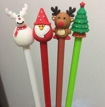 50 יח\חבילה, Wholesales, משלוח חינם, חג המולד סגנון ג ל עט קוריאני מכתבים חמוד Cartoon Creative אספקת ספר, 4 צבע