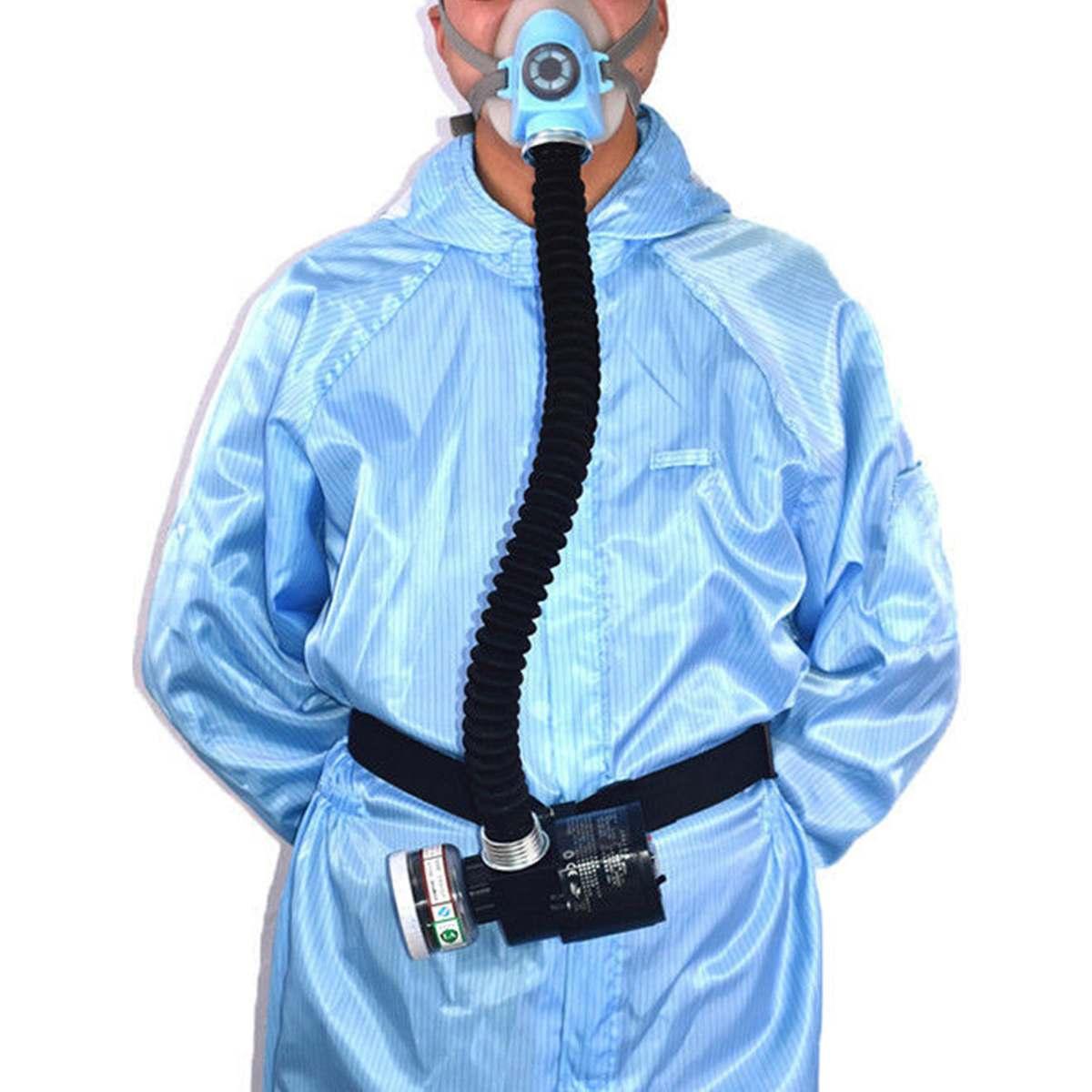 Анти туман электрическая маска + 2 шт фильтр бумага pm2.5 формальдегид активированный уголь пыль запах вторичного дыма Воздухопроницаемый - 6
