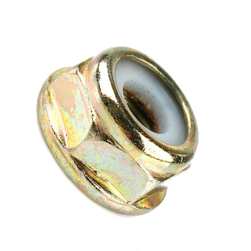Universal M10x1.25 Left Hand Thread Blade Nut For Brushcutter Trimmer Gearbox Replacements  Accessories Copper Nut