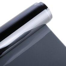Mayitr 50x100cm vlt 35% preto pet janela de vidro matiz sombra filme rolo auto acessórios da casa do carro
